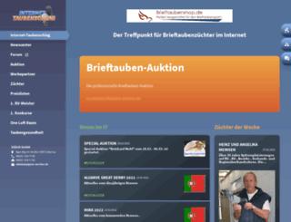 internet-taubenschlag.de screenshot