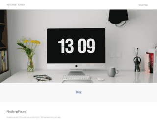 internet-timer.co.uk screenshot