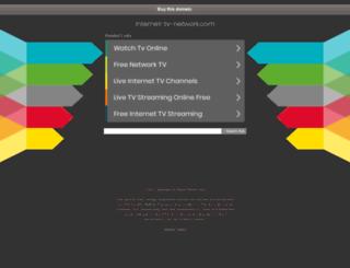 internet-tv-network.com screenshot