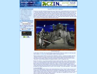 internet.er.cz screenshot