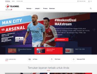 internet.telkomsel.com screenshot