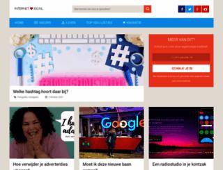 internet100.nl screenshot