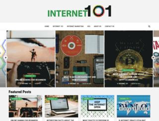 internet101.org screenshot