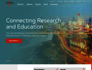 internet2.edu screenshot