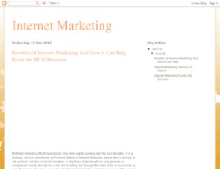 internet4urmarketing.blogspot.in screenshot
