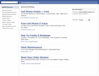 internetaddressbook.com screenshot