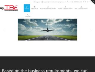 internetbookingengine.co.uk screenshot