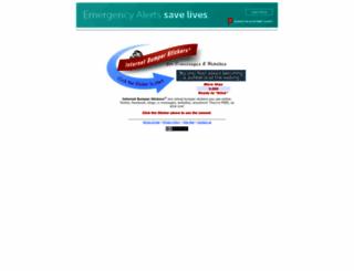 internetbumperstickers.com screenshot