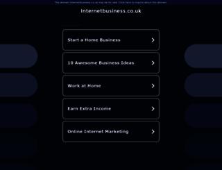 internetbusiness.co.uk screenshot