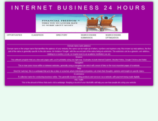 internetbusiness24hours.com screenshot
