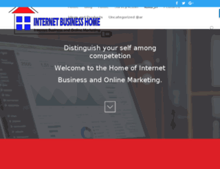 internetbusinesshome.com screenshot