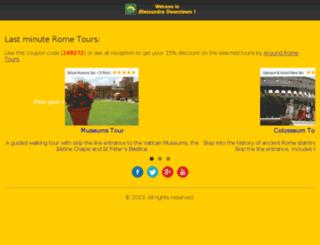 internetcafe.hostelsalessandro.com screenshot