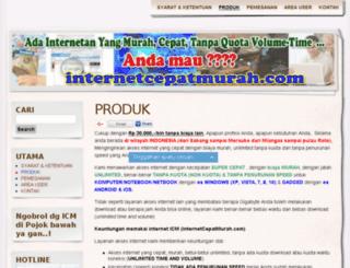 internetcepatmurah.com screenshot