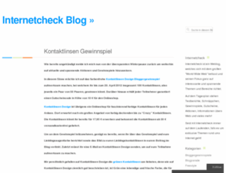 internetcheck.wordpress.com screenshot