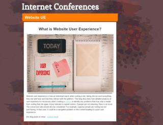 internetconferences.net screenshot