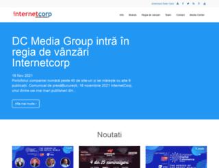 internetcorp.ro screenshot