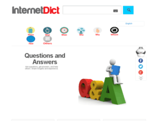 internetdict.com screenshot