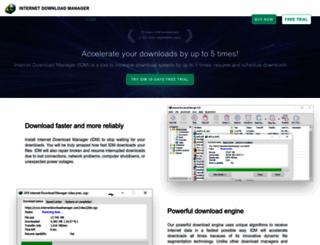 internetdownloadmanager.com screenshot