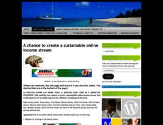internetearningsecrets4u.wordpress.com screenshot