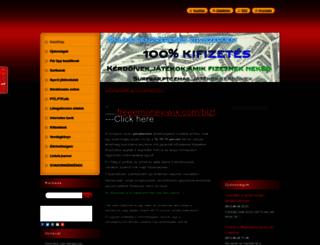 internetespenz2.webnode.hu screenshot