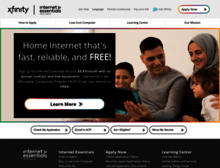 internetessentials.com screenshot