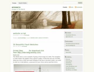 internetg.wordpress.com screenshot