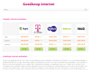 internetgoedkoop.net screenshot