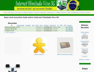 internetilimitadavivo3g.blogspot.com.br screenshot