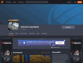 internetlongmatch.challonge.com screenshot