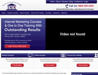 internetmarketingacademy.com screenshot
