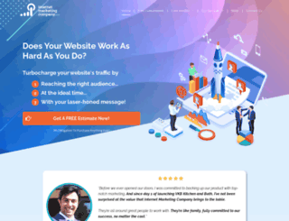 internetmarketingcompany.com screenshot