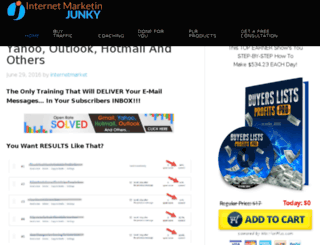 internetmarketingjunky.com screenshot