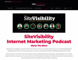 internetmarketingpodcast.org screenshot