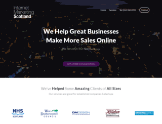 internetmarketingscotland.com screenshot