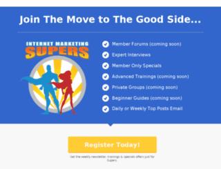 internetmarketingsuperfriends.com screenshot