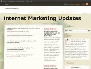 internetmarketingupdates.blog.com screenshot