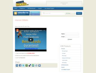 internetoilwells.com screenshot