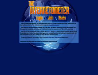 internetometer.com screenshot