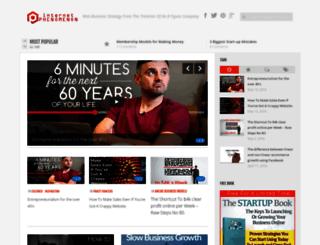 internetphenomenon.com screenshot
