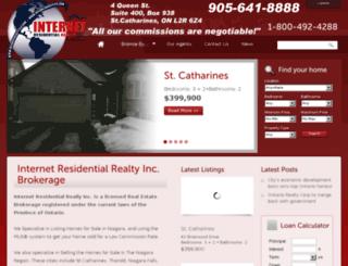 internetrealty123.com screenshot