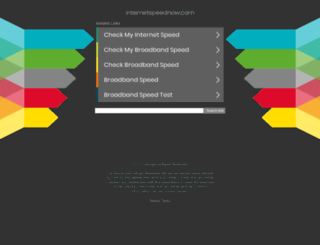 internetspeednow.com screenshot