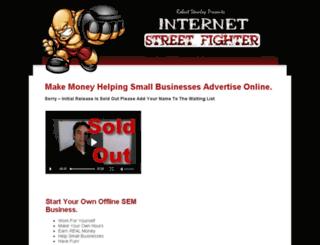 internetstreetfighter.com screenshot