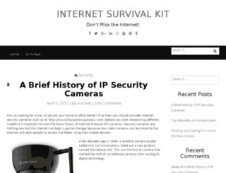 internetsurvivalkit.org screenshot