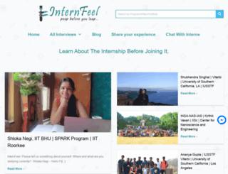 internfeel.com screenshot