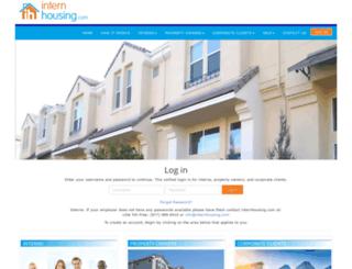internhousing.com screenshot