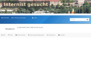internist-gesucht.de screenshot