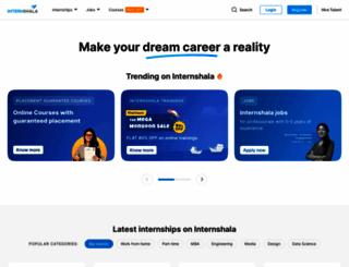 internshala.com screenshot