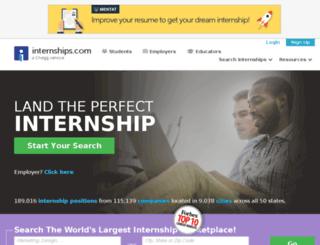 internships-chicago.com screenshot