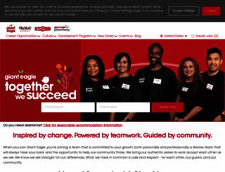 internships.gianteagle.com screenshot