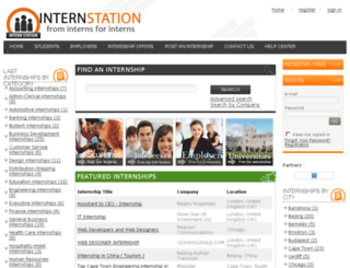 internstation.com screenshot